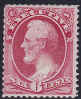 SCOTTO-13   US STAMP  EXECUTIVE  DEPT   6 CENT   MINT NG