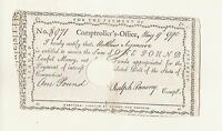 SEYMOUR FAMILY HEIRLOOM AND CONNECTICUT COLONIAL NOTE 1790