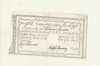 FORRESTER FAMILY HEIRLOOM 1790  ONE POUND NOTE