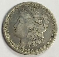 1880 P MORGAN SILVER DOLLAR