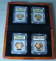 2007-S 4 COIN PRESIDENTIAL SET IN DISPLAY BOX ICG-PR70 DCAM