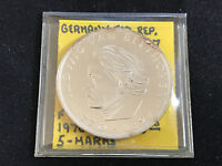 1970 F GERMANY FED. REP. 5 MARKS KM 127 PROOF