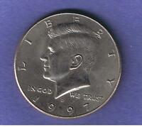 1997 D KENNEDY HALF DOLLAR CIRCULATED NICE