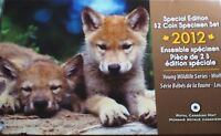 2012 SPECIAL ADDITION TO DOLLAR COIN SET WOLF PUPS