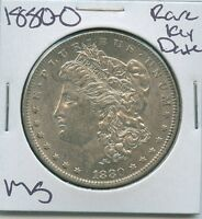 1880 O MORGAN DOLLAR  KEY DATE UNCIRCULATED US MINT SILVER COIN UNC MS