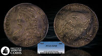 1826 50C CAPPED BUST SILVER HALF DOLLAR PCGS XF 45   ORIGINAL AND LUSTROUS