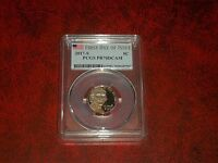 2017 S 5C JEFFERSON NICKEL PCGS PR70DCAM FIRST DAY OF ISSUE
