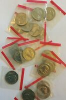 1981   D SUSAN B ANTHONY SBA DOLLAR ROLL 20 COINS CELLO WRAPPED
