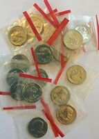 1981   S SUSAN B ANTHONY SBA DOLLAR ROLL 20 COINS CELLO WRAPPED
