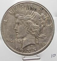 1935 S PEACE DOLLAR   SILVER    CLOSE UP PHOTO   VF? F? AU? YOU PICK 10