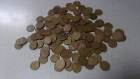 LINCOLN WHEAT CENT ROLL 1930 'S MIXED DATED PLAIN  - 50 PENNIES