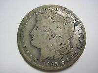 CIRCULATED 1893 O MORGAN SILVER DOLLAR UNGRADED UNCERTIFIED CIRCULATION STRIKE