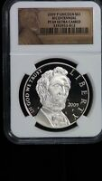 2009 P LINCOLN BICENTENNIAL COMMEMORATIVE SILVER DOLLAR PROOF $1 NGC PF69UCAM