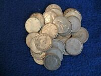 LOT OF 30 CANADIAN DIMES. VARIOUS DATES ALL PRE 1967   80  SILVER COINS