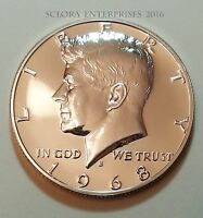 1968 S KENNEDY UNCIRCULATED PROOF HALF DOLLAR 40 SILVER