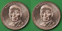 2015 US DWIGHT EISENHOWER PRESIDENTIAL DOLLAR SET ONE P&ONE D FROM MINT ROLL