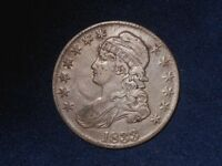 1833 50C CAPPED BUST HALF DOLLAR  O 108   NOTE COMMENTS