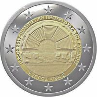 CYPRUS 2 EURO BU IN CAPSULE PAPHOS THE EUROPEAN CAPITAL OF CULTURE FOR 2017