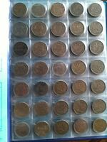 COLLECTION OF 101 PENNY NEAR COMPLETE FROM 1920 2012 NO RESE