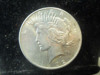 1922 P PHILADELPHIA MINT PEACE 90  SILVER DOLLAR IN ALMOST UNCIRCULATED  210