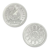 COLONIAL CURRENCY SERIES THE FUGIO CENT 2 OZ .999 SILVER BU ROUND USA MADE COIN