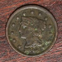 1846 LARGE CENT   VG  10302