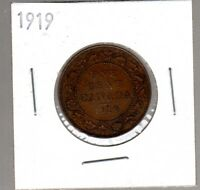 COINS 1919 LARGE CENT IN EXCELLENT CONDITION