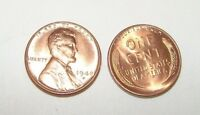 1948 - D BRILLIANT UNCIRCULATED CENT PENNY ROLL - 50 COINS - SHIPS FREE