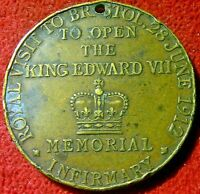 ROYAL VISIT FOR THE OPENING OF THE EDWARD VII MEMORIAL INFIRMARY BRISTOL 1912