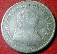 1811 GEO III 3 SHILLING BANK TOKEN WITH HITHERTO UNRECORDED CP COUNTERMARK 9461