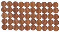 1946 S LINCOLN WHEAT CENT ROLL CIRCULATED