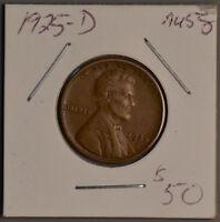 1925-D LINCOLN WHEAT CENT   AU/ ALMOST UNCIRCULATED