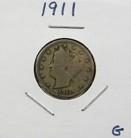 1911 LIBERTY NICKEL G - LOW SHIPPING