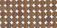 1942 P LINCOLN WHEAT CENT ROLL CIRCULATED