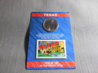 2004 US MINT STATE OF TEXAS QUARTER 'D'  US POSTAL 37 CENT STAMP SEALED ISSUE
