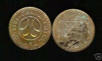 GHANA AFRICA 50 PESEWAS KM18 1979 FAO DEER LION COCOA LARGE CURRENCY MONEY COIN