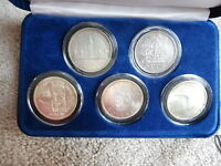$1 COMMEMORATIVE SILVER COLLECTION 1939 1949 1958 1964 1967