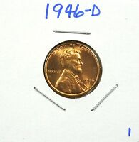 1946-D LINCOLN WHEAT CENT BU - LOW SHIPPING