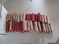 80 ROLLS OF 1940'S - 1950'S LINCOLN WHEAT CENTS 4000 PENNIES BAG