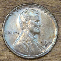 1934-D   LINCOLN WHEAT CENT MS BRN