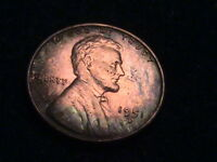 1951 D LINCOLN WHEAT CENT, ALBUM TONING    L124  P1426