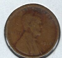 1918 S G LINCOLN WHEAT CENT