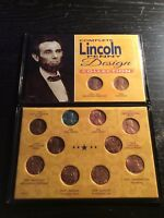 COMPLETE LINCOLN PENNY DESIGN COLLECTION 12 COINS