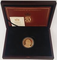 2017 PRINCE PHILIP RETIREMENT GOLD PROOF 5 COIN