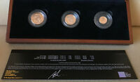 2013 PROOF SET SOVEREIGN HALF SOVEREIGN AND A QUARTER SOV &