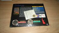 1998 US QUARTER DELAWARE ' THE DELAWARE COLORIZED STATE QUARTER '  SEALED MINT