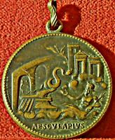 BRONZE COMMEMORATIVE MEDAL XI INTERNATIONAL DOCTORS CONFERENCE ROME 1894  3396