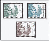 SCOTT 5295 5296 5297 STATUE OF FREEDOM SINGLES $1 $2 $5  COMPLETE SET OF 3  MNH