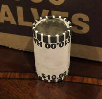 ONE  BANK SEALED HALF DOLLAR ROLL   POSSIBLE SILVER KENNEDY FRANKLIN