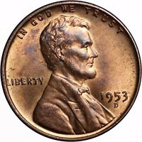 1953-D 1C LINCOLN CENT